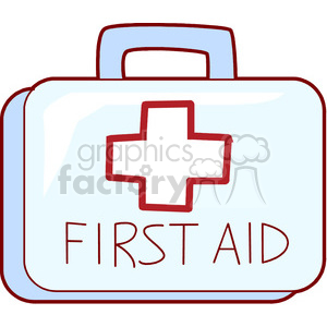 first aid kit clipart. Royalty-free image # 165827