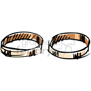 wedding bands clipart. Royalty-free image # 137063