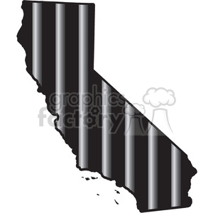 prison california jail bars tattoo design clipart. Royalty-free image # 394802