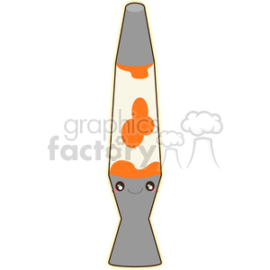 Lava Lamp cartoon character vector clip art image clipart. Royalty-free image # 395055