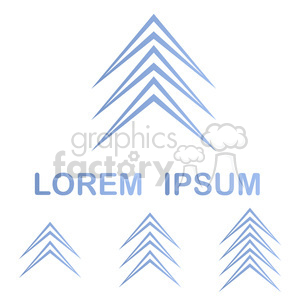 logo template geom 002 clipart. Commercial use image # 397179