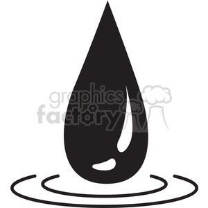water drop image clipart. Royalty-free icon # 397931