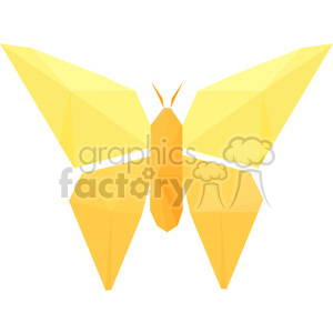 Butterfly polygon animal art clipart. Royalty-free image # 397961