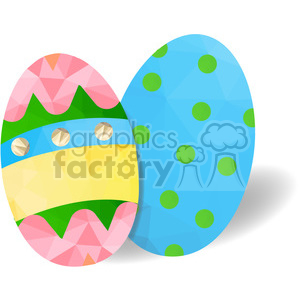 Easter Eggs clipart. Royalty-free image # 397971