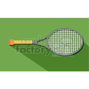 sports equipment tennis raquet illustration clipart. Commercial use image # 398121