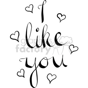 i like you clipart. Royalty-free image # 398191