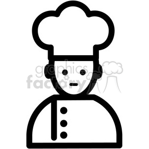 cook vector icon clipart. Royalty-free image # 398832