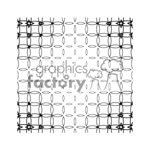 vector shape pattern design 748 clipart. Royalty-free image # 401559
