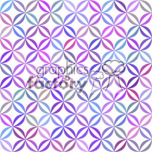 vector color pattern design 146 clipart. Royalty-free image # 401784