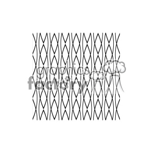 vector shape pattern design 744 clipart. Royalty-free image # 401839
