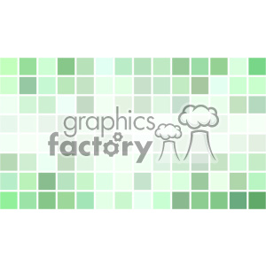 vector business card template shades of green pixel geometric middle text design clipart. Royalty-free image # 401959