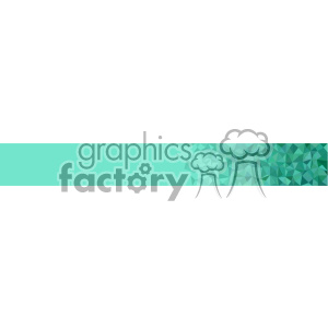 vector green small geometric end banner background clipart. Commercial use image # 402064