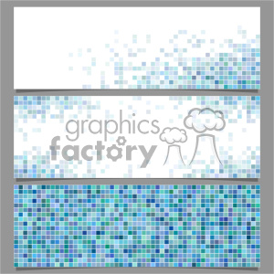 vector header banner template 019 clipart. Royalty-free image # 402089