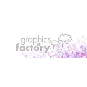 vector pink faded geometric quater background