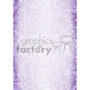 purple ditigal pixel pattern vector background template clipart. Royalty-free image # 402124