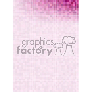pink purple pixel pattern vector top right background template