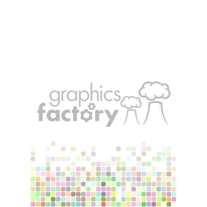 shades of pastel pixel vector brochure letterhead document background bottom template clipart. Commercial use image # 402139