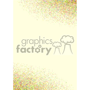 clipart - shades of yellow geometric vector brochure letterhead background template.