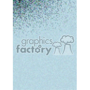 shades of gradient blue pixel vector brochure letterhead document background top corner template clipart. Royalty-free image # 402179