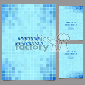 vector letter brochure template set 052 clipart. Royalty-free image # 402184