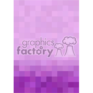 purple gradient pixel pattern vector brochure letterhead bottom background template clipart. Royalty-free image # 402224