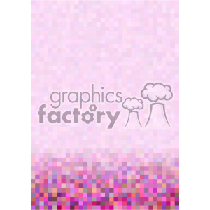pink gradient pixel pattern vector bottom background template clipart. Royalty-free image # 402239