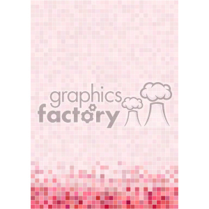 pink pixel pattern vector bottom background template clipart. Royalty-free image # 402264