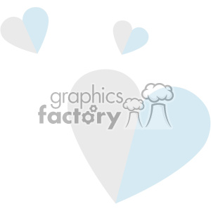 flying hearts svg cut files vector valentines die cuts clip art clipart. Royalty-free image # 402307