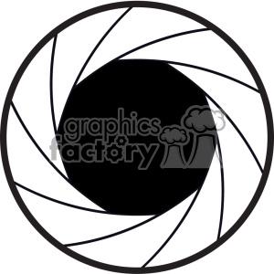 camera shutter aperture lens icon