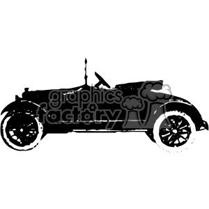 old vintage distressed roadster car retro vector design vintage 1900 vector art GF