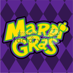 mardi gras with background vector art clipart. Royalty-free image # 403027
