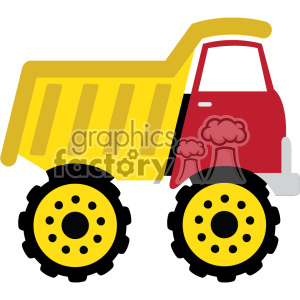 dump truck svg cut file clipart. Royalty-free image # 403776