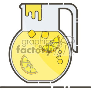 Juice Jug vector clip art images clipart. Commercial use image # 403860