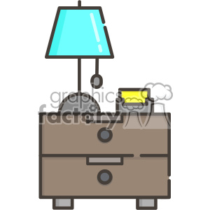 Sidetable vector clip art images clipart. Commercial use image # 403867