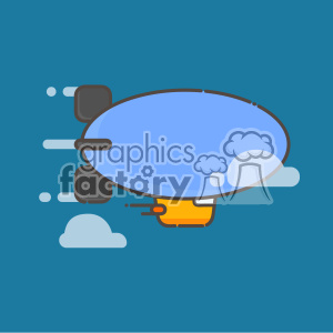 Zeppelin vector clip art images clipart. Commercial use image # 403932