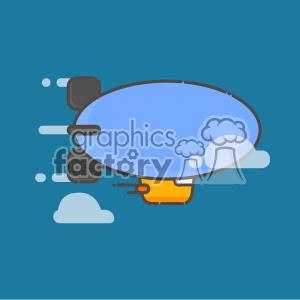 Zeppelin vector clip art images