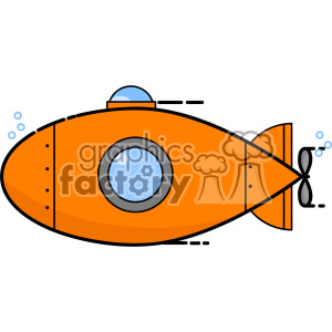 Submarine vector clip art images clipart. Royalty-free image # 403933