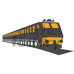 train vector icon clipart. Commercial use image # 405496