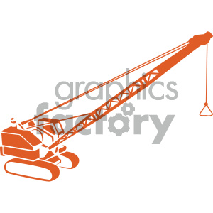 vector crane image clipart. Commercial use icon # 405508