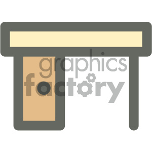 reading desk furniture icon clipart. Royalty-free icon # 405635