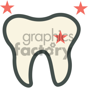 teeth cleaning dental vector flat icon designs