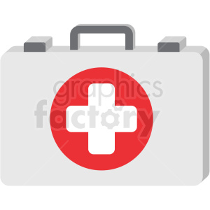 first aid kit icon clipart. Royalty-free image # 406025