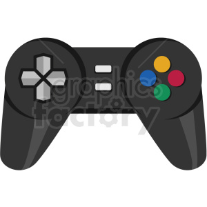 game controller icon clipart. Royalty-free image # 406043