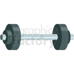dumbbell icon clipart. Royalty-free image # 406065