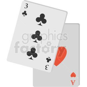 playing cards icon clipart. Commercial use image # 406077
