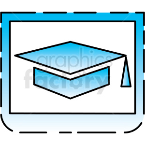 education icon clipart. Royalty-free image # 406151
