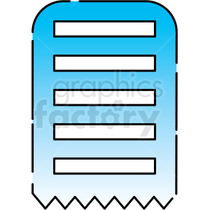 form paper icon clipart. Royalty-free image # 406192