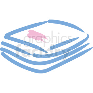 face wipes cosmetic vector icons clipart. Royalty-free image # 406304