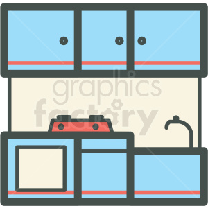 kitchen vector icon clipart. Royalty-free image # 406419