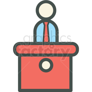 service desk vector icon clipart. Royalty-free image # 406481